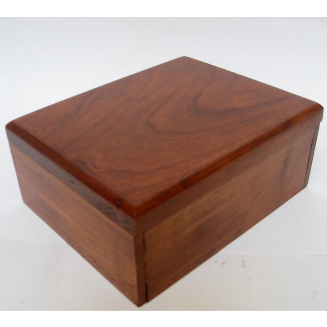 Late 20th Century Cedar Storage Box For Sale - Image 5 of 6