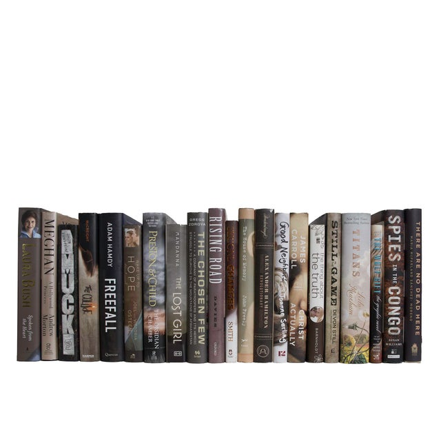 Transform your space with our Modern Cappuccino Dust Jackets By The Foot. These are authentic Modern hardback books in...