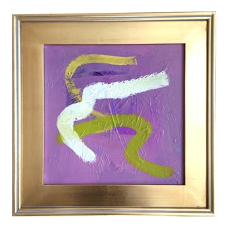 Lavender Gust Original Painting For Sale