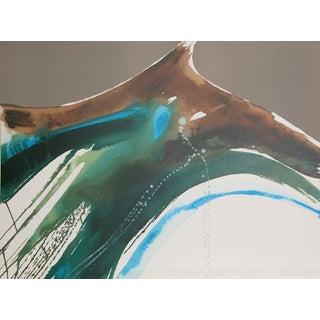 """Lamar Briggs, """"Tiva Landscape,"""" Lithograph For Sale"""