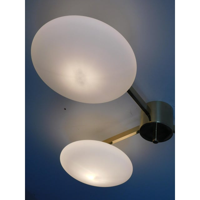 Fabio Ltd Trio Flush Mount by Fabio Ltd For Sale - Image 4 of 9