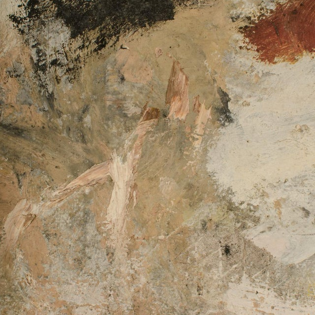 Mid 20th Century Abstract Oil Painting by Newton Haydn Stubbing For Sale - Image 12 of 13