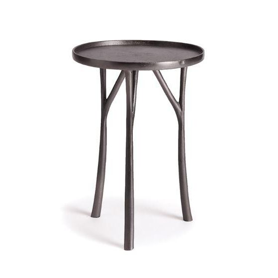 Farmhouse Kenneth Ludwig Edison Side Table For Sale - Image 3 of 3