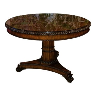 Traditional Maitland Smith Center Table For Sale