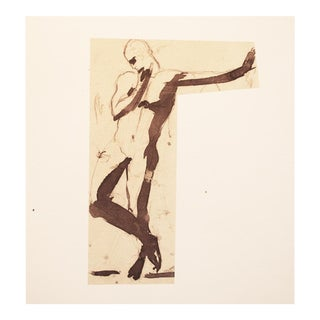 Rare 1959 Auguste Rodin, Study Hungarian Print For Sale