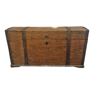 Antique Spanish Trunk For Sale