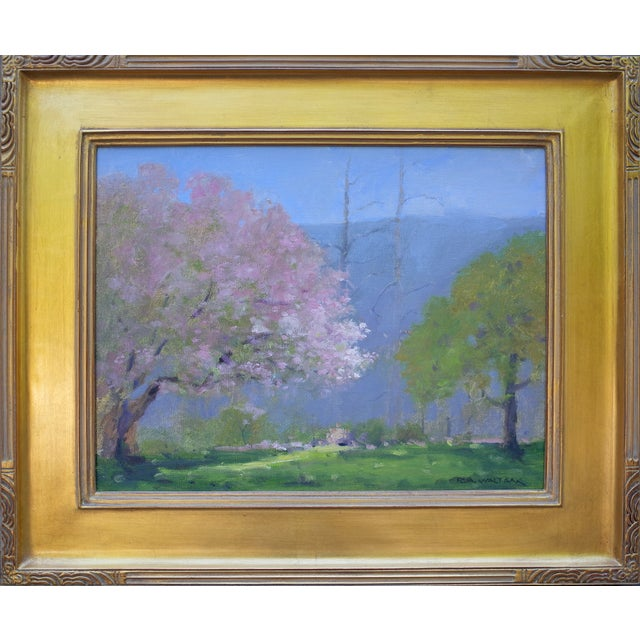 Spring Landscape Painting - Image 2 of 4