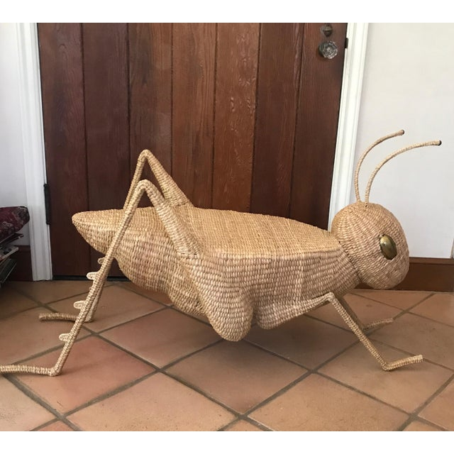 Folk Art Mario Lopez Torres Jumbo Cricket Side Table For Sale In Los Angeles - Image 6 of 9