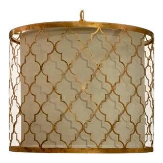 Modern Regina Andrew Geometric Metal Pendant For Sale