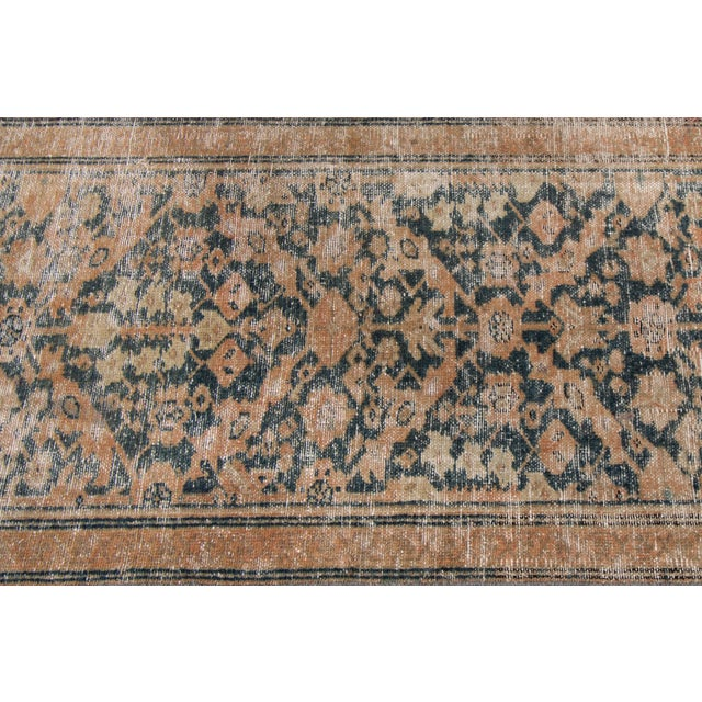 "Textile Apadana-Antique Persian Distressed Rug, 2'4"" X 15'10"" For Sale - Image 7 of 10"