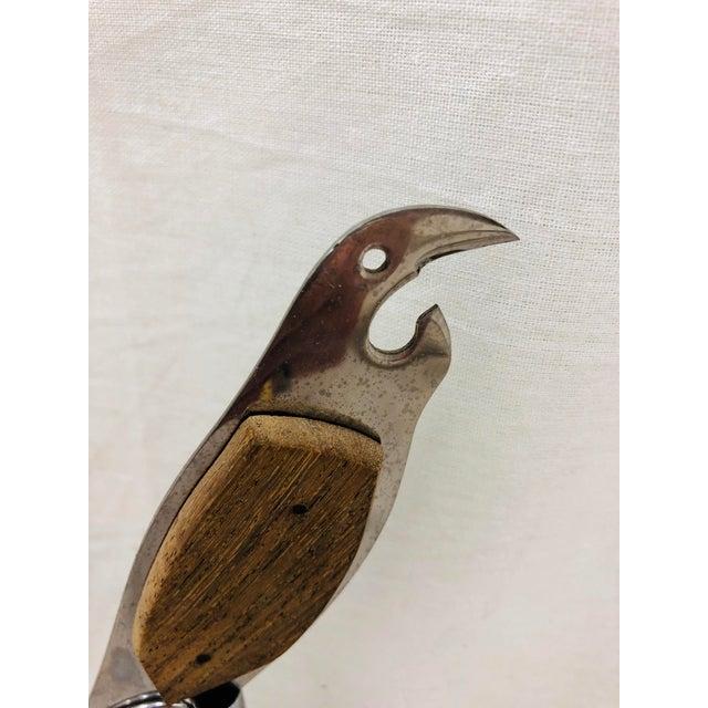 Metal Vintage Bird Bar Tool For Sale - Image 7 of 13