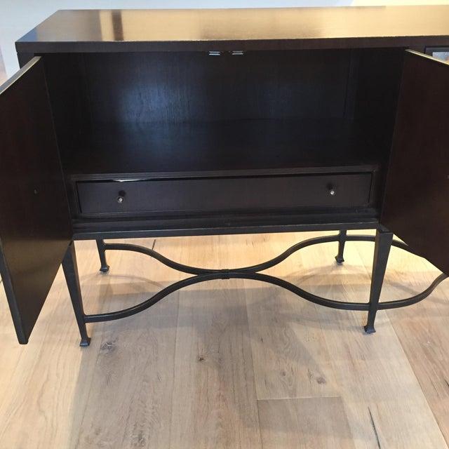 Modern Luxury, Caracol Furniture; Italian Smoke & Mirror Console For Sale - Image 12 of 13
