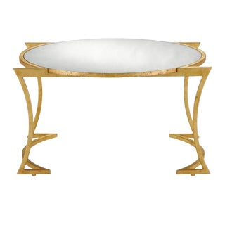 Contemporary Currey & Co. Lenox Cocktail Table