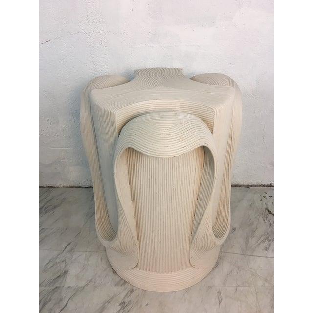 1980s Betty Cobonpue Pedestal For Sale - Image 5 of 10