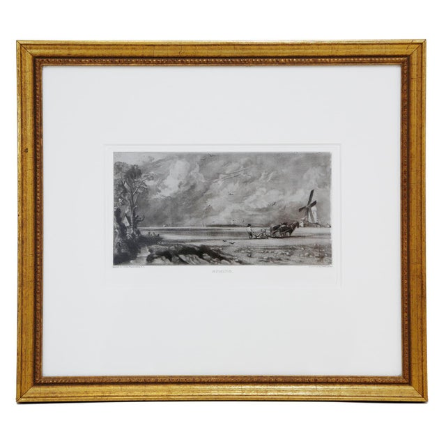 John Constable & David Lucas Mezzotint Collection From the Tate Gallery in London 1990's - Set of 16 For Sale - Image 13 of 14