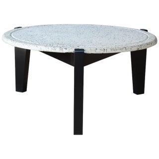 Terrazzo Top Coffee Table For Sale