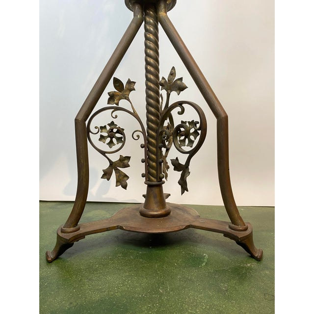 19th Century Brass Music Stand / Lectern For Sale - Image 11 of 13