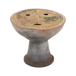 Clyde Burt Figural Ceramic Stool For Sale