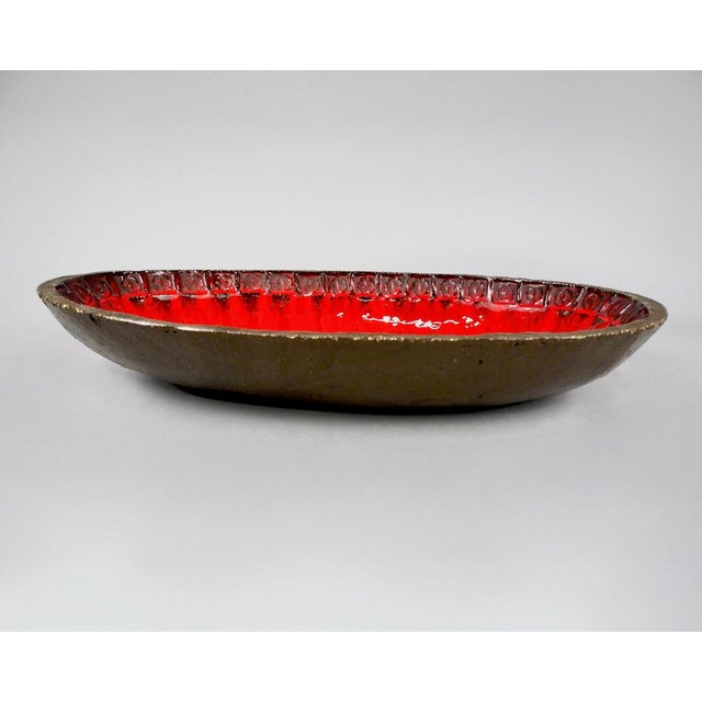 Jan Ryheul Mid Century Belgian Ceramic Platter - Image 5 of 8