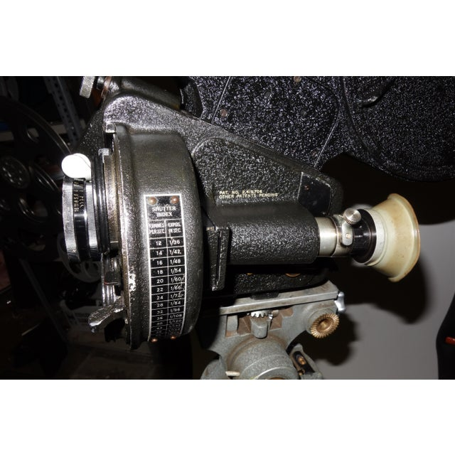 CineFlex 35mm Movie Camera Ww-II Designed Combat Camera, Pristine Time Warp Unit For Sale - Image 10 of 13
