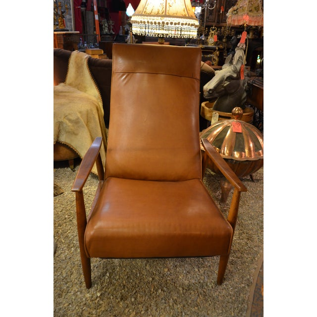 Vintage Mid Century Milo Baughman for Thayer Coggin Tighten Up Recliner Armchair Newly Upholstered For Sale - Image 9 of 9