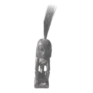 Last Markdown. Will Be Removed on July 31st. Vintage Wooden African Figure Statue