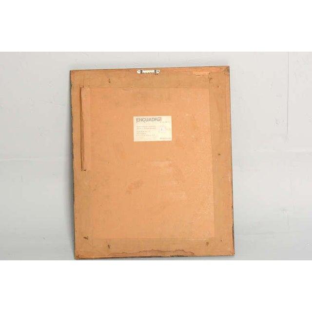 1970s Manuel Felguerez Lithograph For Sale - Image 5 of 6