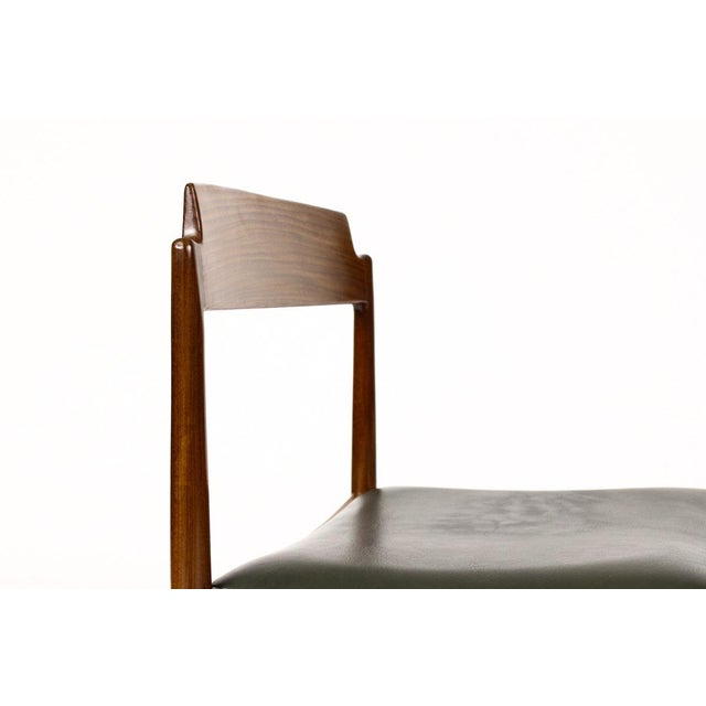 G-Plan Furniture 1960s Danish Modern Ib Kofod Larsen for G-Plan Mahogany Dining Chairs - Set of 4 For Sale - Image 4 of 6