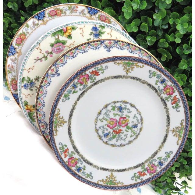 Vintage Mismatched Luncheon Plates - Set of 4 - Image 2 of 8