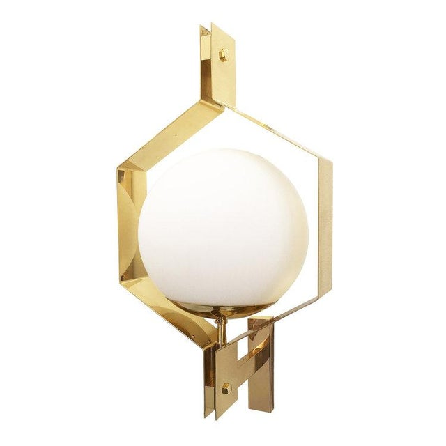 Gold Esagono Wall Light by formA For Sale - Image 8 of 8