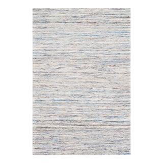 Pasargad N Y Sari-Silk Modern Flat Weave Rug - 6' X 9'