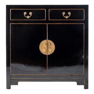 Black Hallway Zen Cabinet For Sale