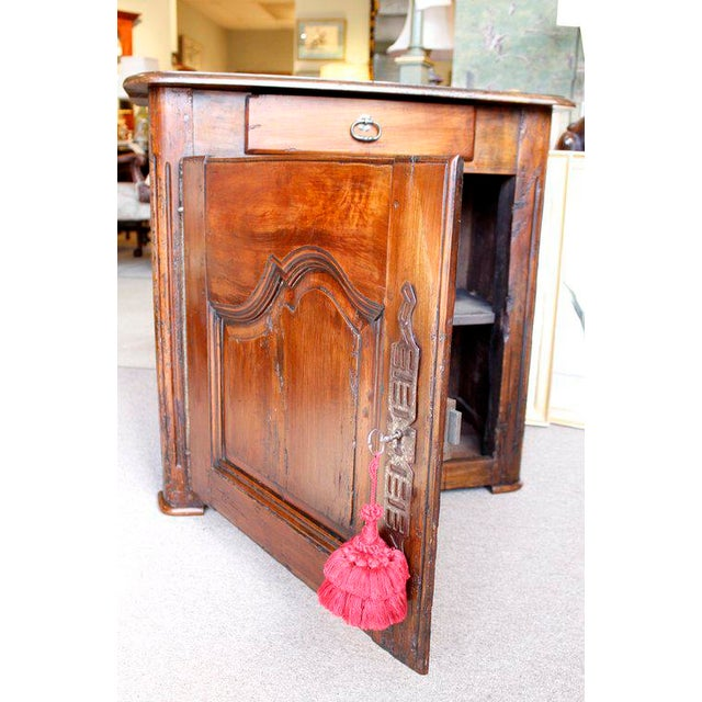 Louis XV Walnut Small Cabinet For Sale - Image 6 of 10