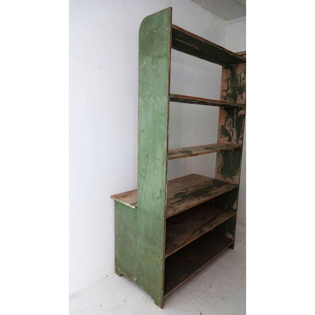 19th Century Country Style Pine Hutch For Sale - Image 4 of 6