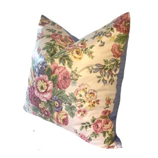 "24"" Vintage Cottage Waverly Chintz Pillows - a Pair Preview"