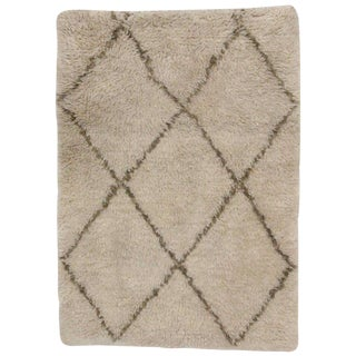 Modern Moroccan Style Accent Rug