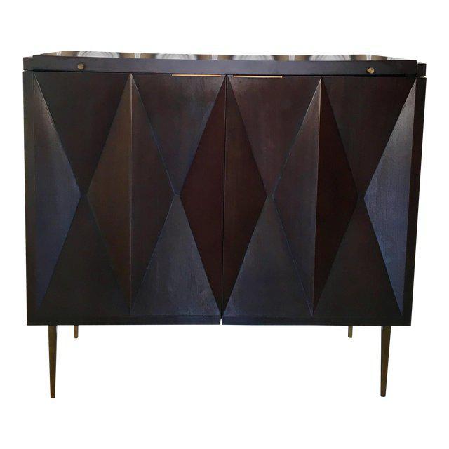 Contemporary Contemporary Mitchell Gold Bob Williams Roxbury Bar For Sale - Image 3 of 3
