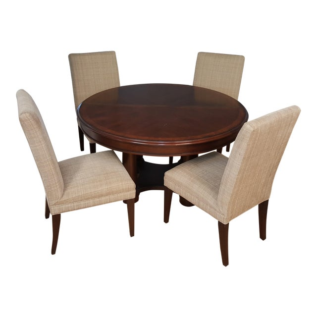 Hickory White Dining Room Set For Sale