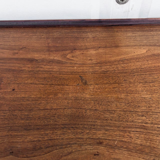 Mid-Century Writing Desk With Raised Edge by Dillingham For Sale - Image 11 of 13
