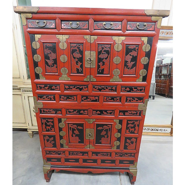 Antique Asian Cabinet For Sale - Image 13 of 13 - Antique Asian Cabinet Chairish