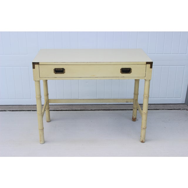 Dixie Campaigner Writing Desk - Image 3 of 11