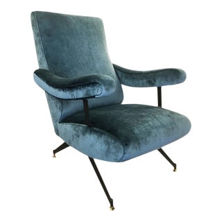 Reclining Lounge Chair by Formanova For Sale