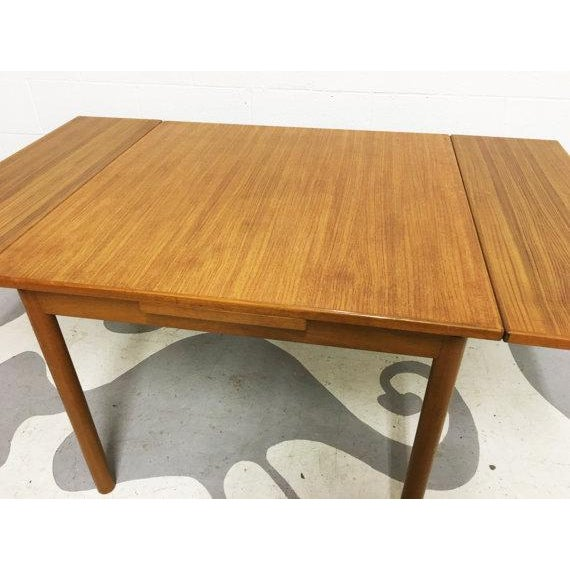 Mid-Century Modern Dining Table in Teak - Image 4 of 6