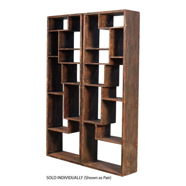 2010s Sarreid Wagoner Bookshelf For Sale - Image 5 of 10