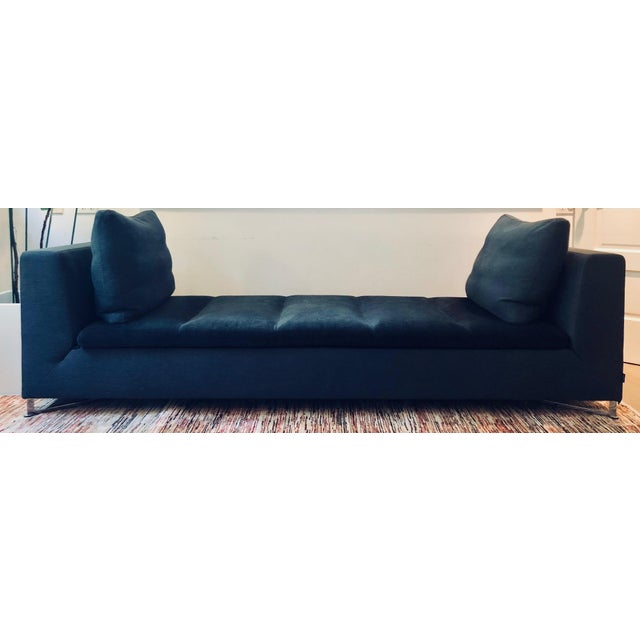 Contemporary Ligne Roset Feng Chaise Lounge For Sale - Image 3 of 3