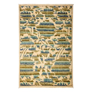 """Arts & Crafts, Hand Knotted Area Rug - 4'2"""" X 6'2"""" For Sale"""