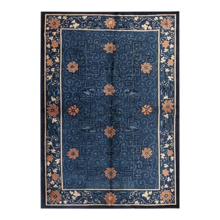 """Antique Chinese Peking Rug 6'2""""x8'9"""" For Sale"""