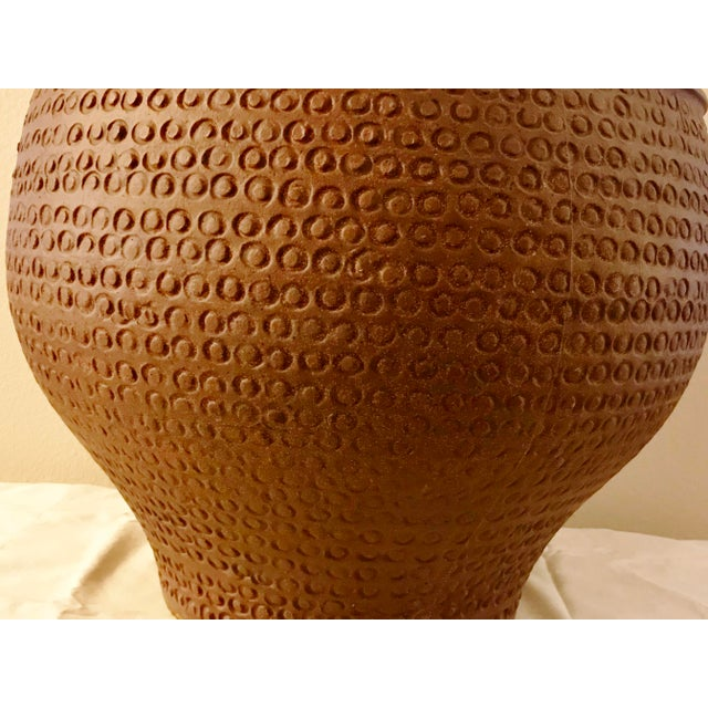 Large Architectural Pottery vessel by David Cressey. This is the Cheerio design. Very large. Very few defects. Nothing...