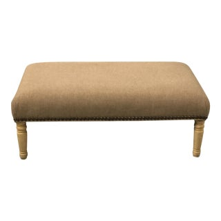 1950s French Style Upholstered Ottoman