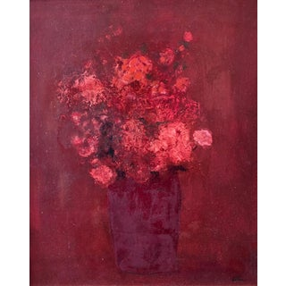 Harold Cohn Carnations & Rose Buds For Sale